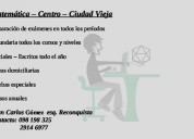 Clases particulares de matemática online