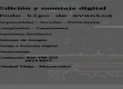 Se realiza edicion digital de todo tipo de eventos - retoque de imagen