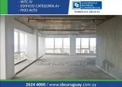 Excelente oficina wtc venta alquiler cw81396