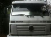 Excelente camión vw 17220 con zorra granelera y madera