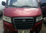 Vendo o permuto excelente camioneta wuan