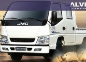 Jmc doble cabina rueda sencilla full