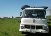 Excelente camion belfor con jaula para ganado