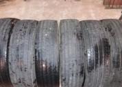 Vendo 6 cubiertas pirelli 215/75r17.5