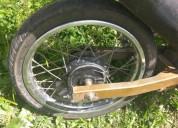 Vendo excelente ruedas trasera y delantera y caño