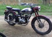 Vendo moto original de colecciÓn aÑo 50, contactarse.