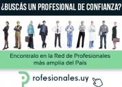 Portal para abogados, contadores, escribanos, psicólogos, etc.
