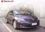 Toyota corolla gli 2012 nafta automática