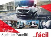 Excelente mercedes benz 415 cdi facelift ambulancias equipadas