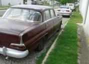 Vendo excelente auto mercedez benz año 1963