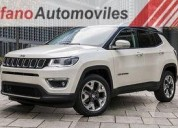 Oportunidad!, jeep compass limited 2.4l 4x4 2017 0km