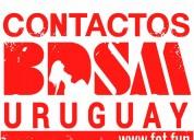 Comunidad bdsm y fetichista uruguay.