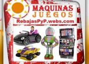 ★ fabrica, tragamonedas, kiddie rides, carros eléctricos niños, carros chocones, videojuegos