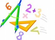 Clases particulares de matemÁticas y dibujo