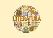 clases de literatura e idioma español.