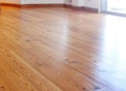 Pulido plastificado hidrolaqueado reparaciones pisos parquet y tabla larga