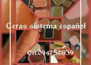 Ceras para depilacion sistema español