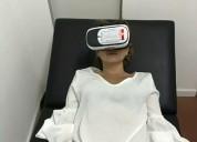 Promoción; masaje 4 manos y relajante más gafas brainwave