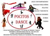 Pocitos dance clases de tango, jazz, zumba, danza Árabe, pilates