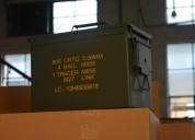 Cajas metalicas impermeables del us army