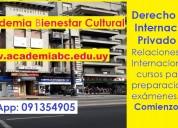 Derecho internacional privado. relaciones internacionales