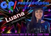 Luana la princesita de la plena uruguay contrataci