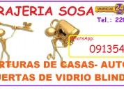 Cerrajería urgencias whatsapp: 091354905