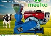 Maquina Meelko para pellets con madera 260 mm
