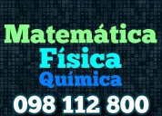 Matematica fisica quimica clases particulares