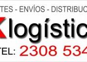 Fletes distribucion envios deposito cel tel 23085343 montevideo uruguay