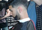 Ultimos 3 lugares curso barber shop
