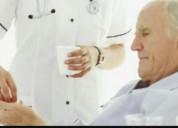 acompañamiento de enfermos en sanatorios hospitales