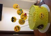 Torta cumpleanos emoji emoticones