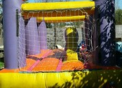 Inflable impecable con turbina 18 mil