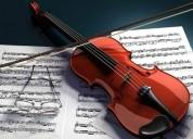 clases particulares de violin y solfeo a domicilio