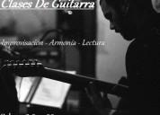 clases de guitarra montevideo