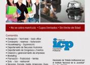 curso recepcionista de hotel nivel internacional