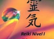 Reiki nivel 1 curso formacion de terapeutas