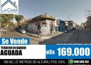 Lote 2 Padrones En Esquina Frente A Montevideo Shopping en Buceo