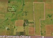 Chacra de 7 5 hectareas lugar estrategico sobre peaje de ruta 9 en solís