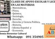 Profesor particular de Idioma Español, Sociología, Historia y Derecho nivel secundaria