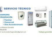 Tecnico en refrigeracion familiar y comercial