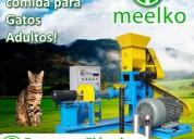 Extrusora meelko para pellets perros-gatos 60-80