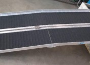 Rampa de aluminio plegable