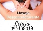 Alivie tensión realizándose un buen masaje