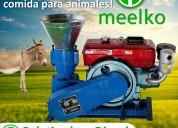 Peletizadora meelko 120 mm 8 hp diesel  mkfd120a