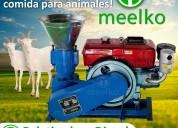 Peletizadora meelko 200 mm 15 hp diesel mkfd200a