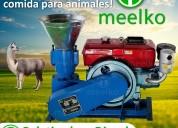 Peletizadora meelko 150mm 8 hp diesel 80-130 kg/h