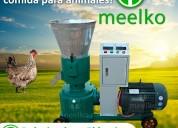 Peletizadora meelko 200mm electrica 7.5kw