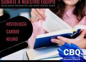 Convocatoria docentes universitarios academia cbq